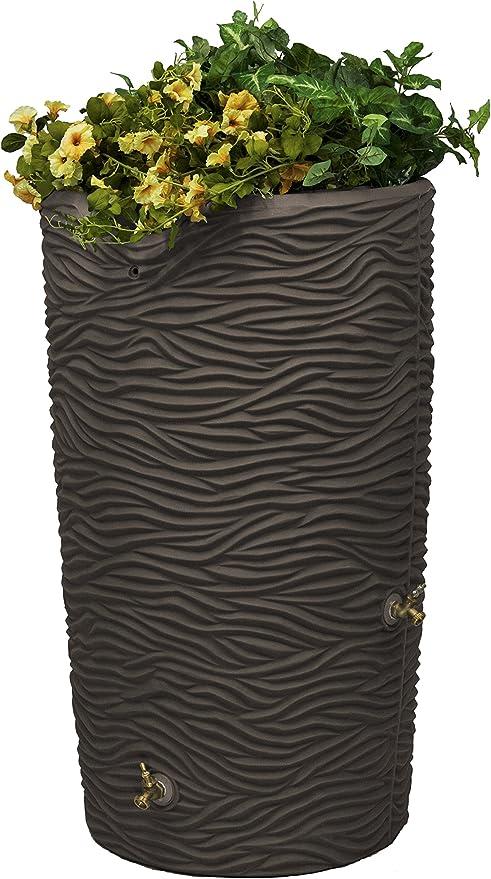 Good Ideas IMP-STONE65-SAN Impressions Stone 65 Gallon Saver-Sandstone Rain Barrel