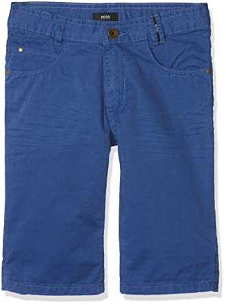 151d2f477 BOSS Hugo Boy Light Blue Cotton Chino Shorts Mod. J24538861T 16A:  Amazon.co.uk: Clothing
