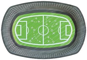 6 Platos moldeada * Balones de Fútbol * para WM 2018 de ...