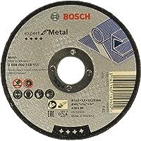 Bosch Düz Metal Kesme Diski, Gri, 1 Adet