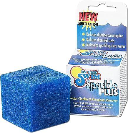 Amazon.com: En la piscina Swim Sparkle Plus Clarificador – 6 ...
