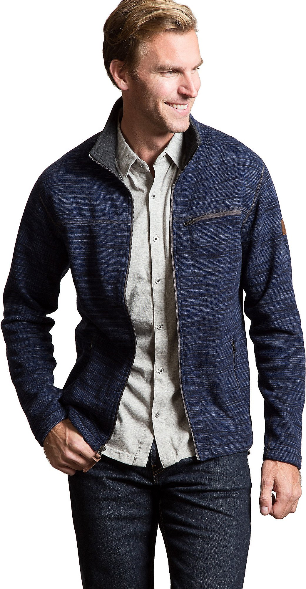 boreas Italian Wool-Blend Fleece Jacket