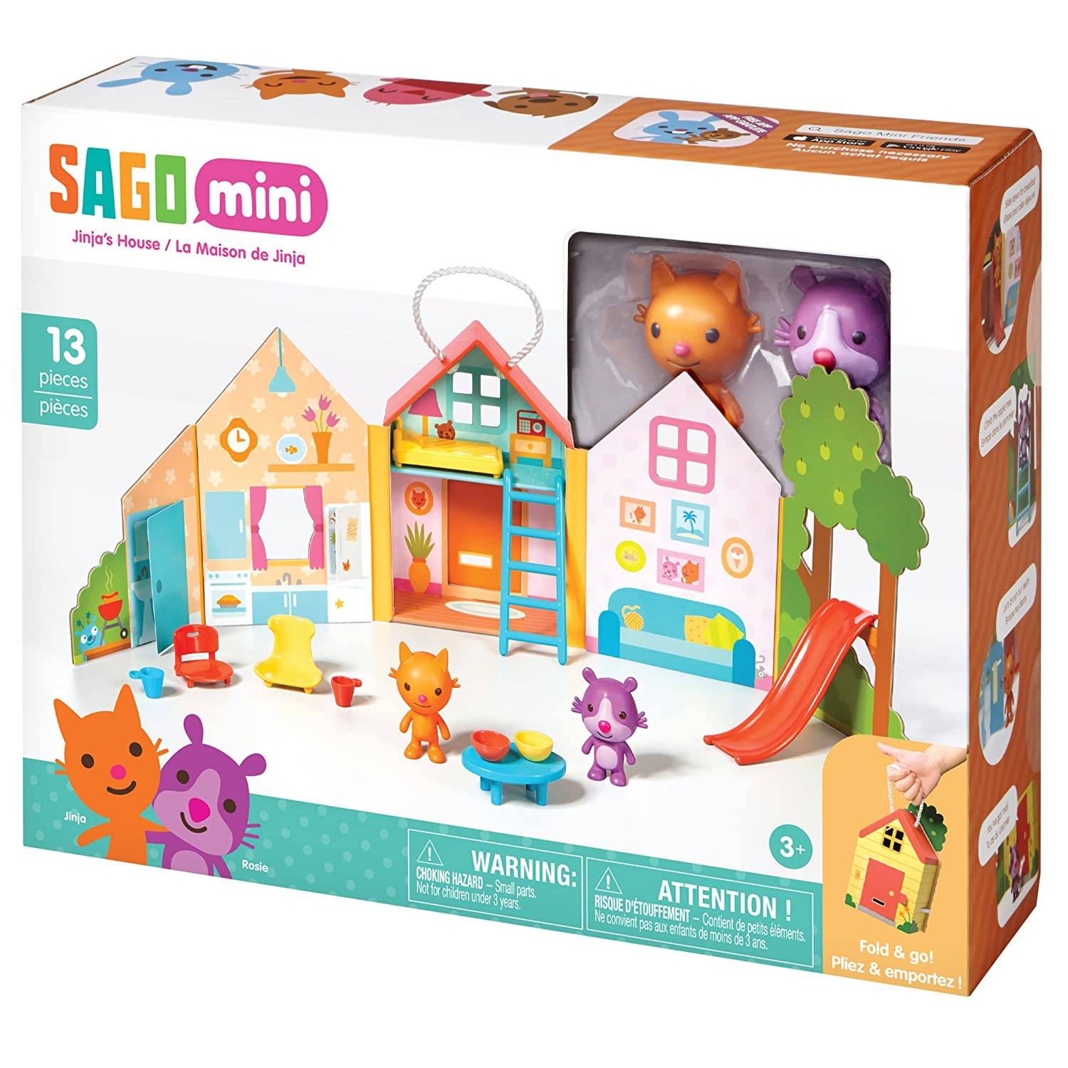 Sago Mini - Portable Playset: Jinjas House by Sago Mini: Amazon.es: Juguetes y juegos