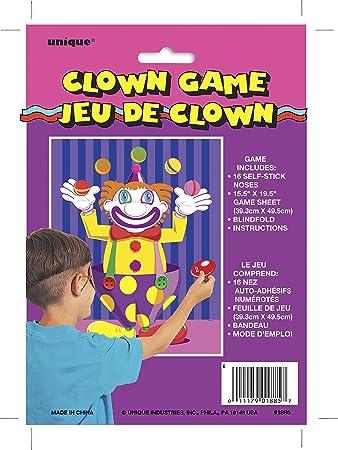 Clown Zirkus Partyspiel Kinder Geburtstag Spiel Steck den Tail On The Donkey
