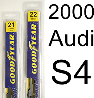"product image for Audi S4 (2000) Wiper Blade Kit - Set Includes 22"" (Driver Side), 21"" (Passenger Side) (2 Blades Total)"