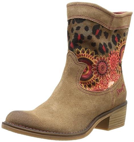 Desigual Boot Campera Salvaje, Botines para Mujer, Braun 6020, 36 EU: Amazon.es: Zapatos y complementos