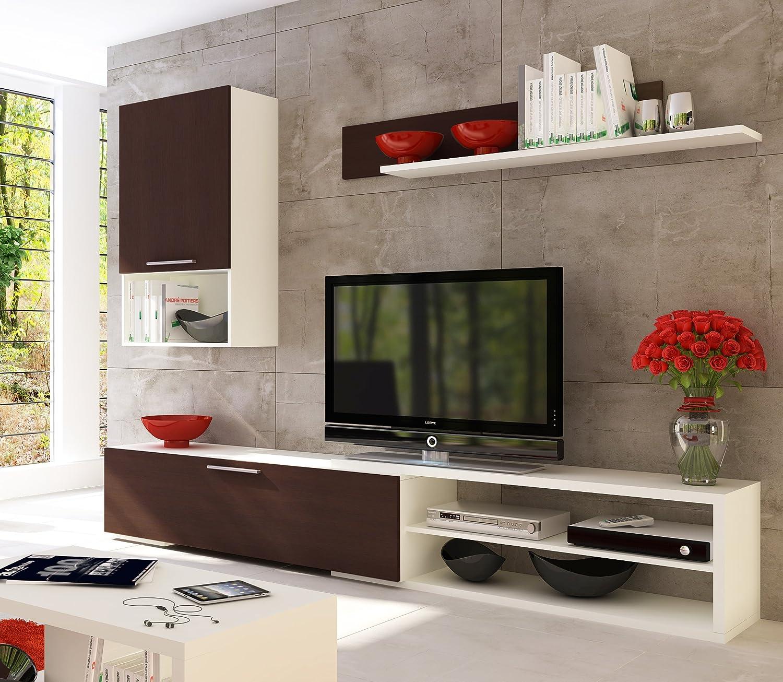 Muebles bajos para tv mueble bajo para tv en acabado for Mueble compacto tv