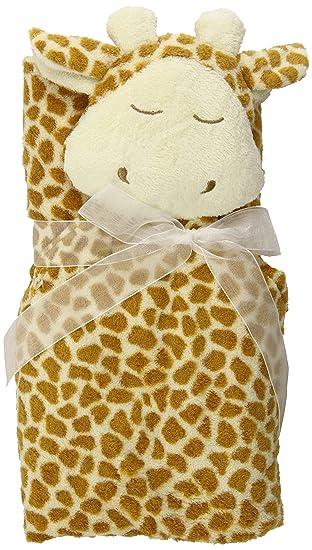 Brown Giraffe Angel Dear Blankie