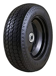 Marathon 00210 Universal Fit, Flat Free, Hand Truck/All Purpose Utility Tire