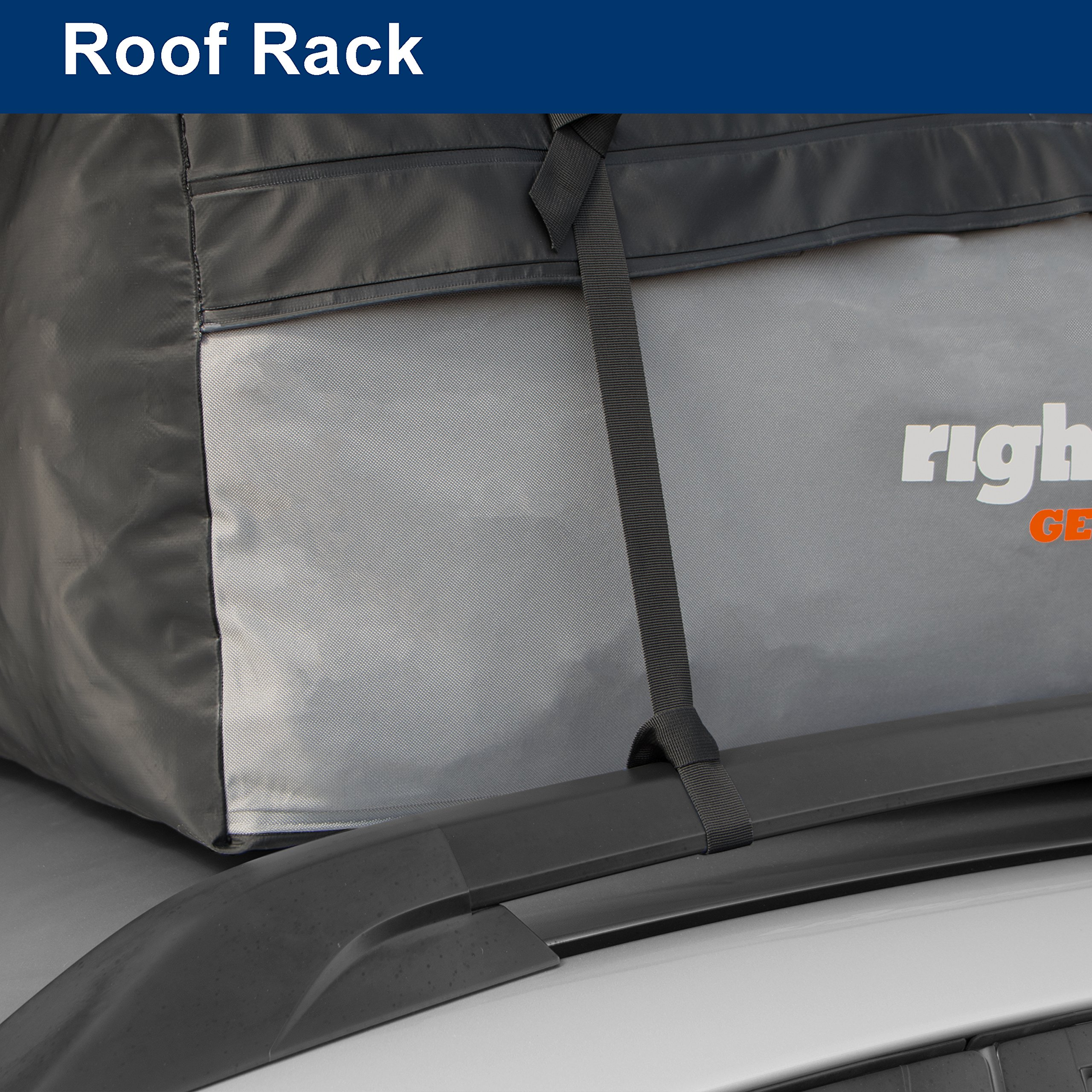 Rightline Gear 100S30 Sport 3 Car Top Carrier, 18 cu ft, Waterproof, Attaches With or Without Roof Rack by Rightline Gear (Image #5)