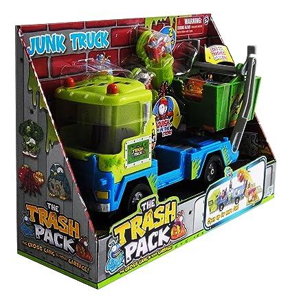 The Trash Pack Serie 3 - Junk Truck con 2 figuras exclusivas ...
