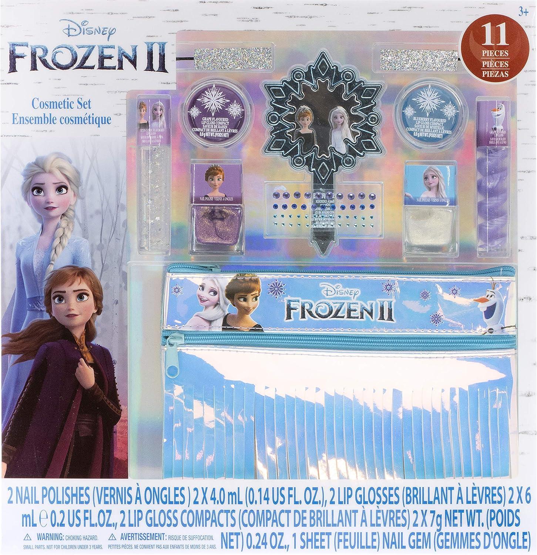 Townley Girl Kit De Belleza Disney Frozen Con Bolso De Flecos|