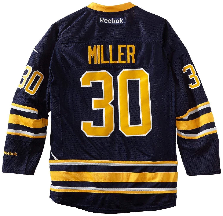 Ryan Miller Buffalo Sabres Reebok Blue Premier Jersey 7185A5CGHPJ133 422898-3