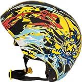 Medium Yellow, Black & Blue XCOOL Helmet
