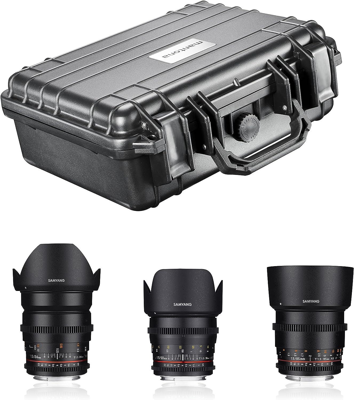 Samyang Video Lens Dslr Basic Set Sony E Schwarz Camera Photo