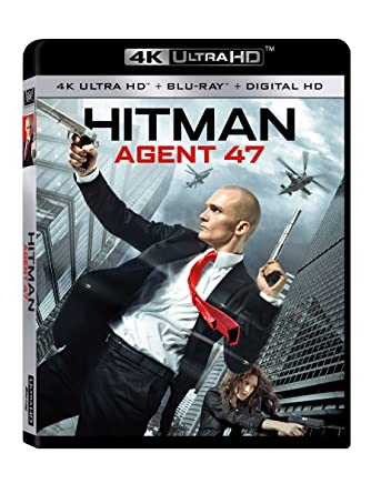 Amazon Com Hitman Agent 47 4k Uhd Blu Ray Hitman Agent 47