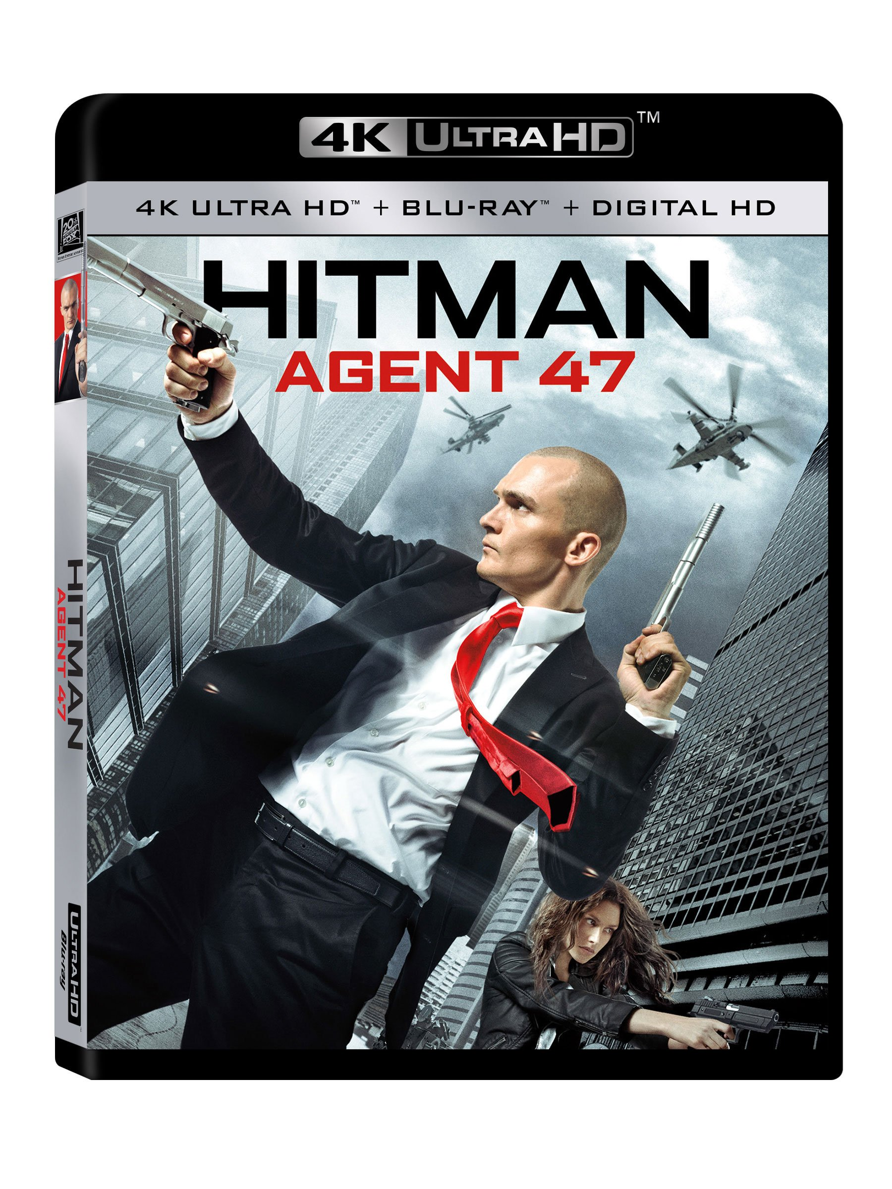 4K Blu-ray : Hitman: Agent 47 (Digitally Mastered in HD)