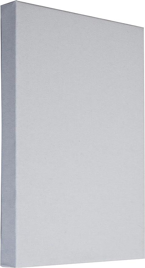 Arte & Arte 7159.0 - Bastidor con Lienzo para Pintores. Hecho de Madera de Abeto y algodón, Blanco. Dimensiones: 100 x 80 x 3,5 cm: Amazon.es: Hogar