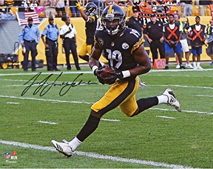 fe46b6a52 JuJu Smith-Schuster Pittsburgh Steelers Autographed 8 quot  x 10 quot   Photograph - Fanatics Authentic