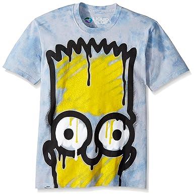 44bbd88c8 Amazon.com: Liquid Blue Men's El Barto T-Shirt: Clothing