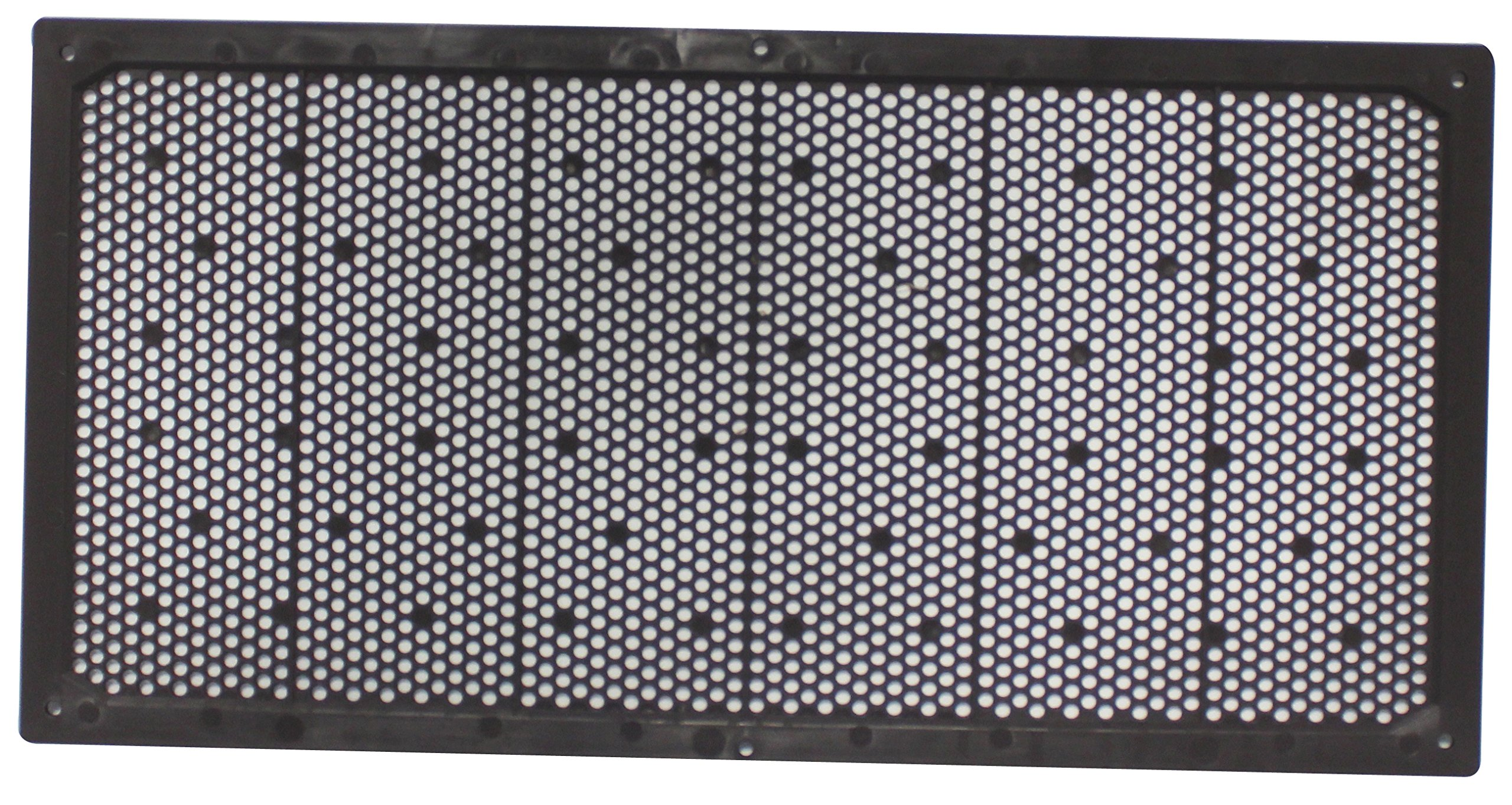 Duraflo 641608BR Soffit Vent, 16-Inch by 8-Inch, Brown