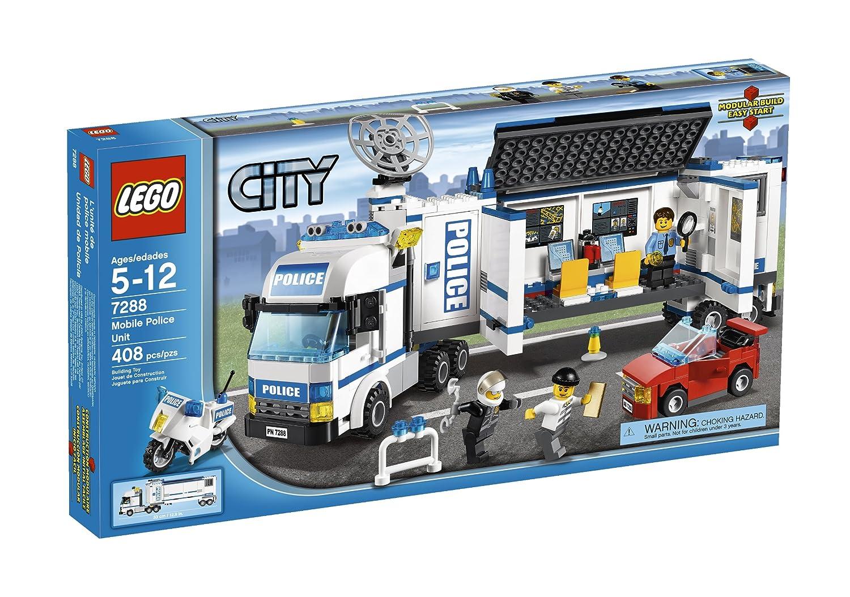 directo de fábrica UNIDAD DE LA POLICíA MóVIL MóVIL MóVIL DE LEGO 7288  cómodamente