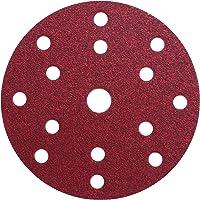 Klingspor PL 28 CK slijpschijf   Ø 150 mm   15 gaten/8+6+1 perforatie (GLS 47)   50 stuks   korrelgrootte: P120