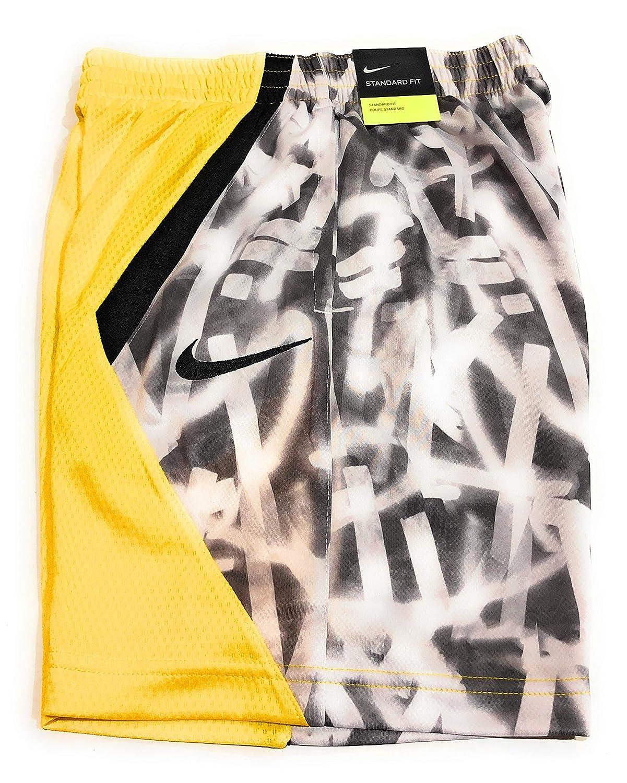 X-Large 939540-728 Amarillo//Black//Black Nike Boys Dry Avalanche Basketball Shorts