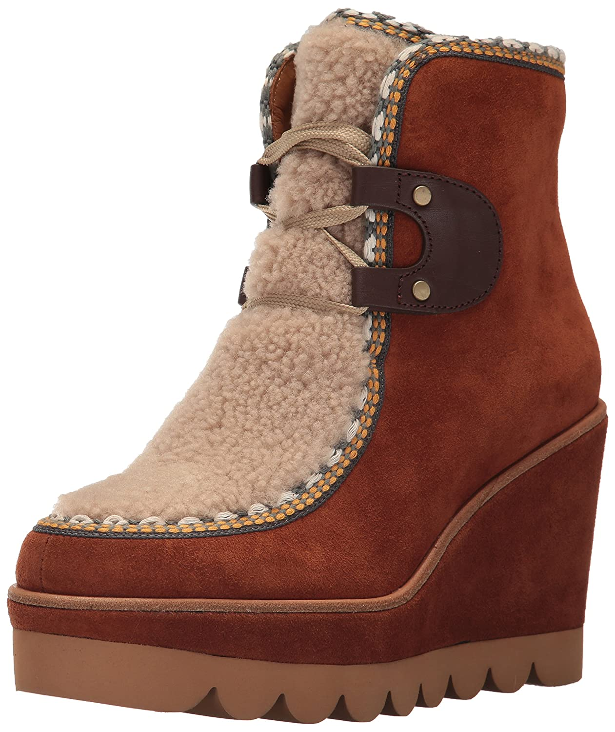 See By Chloe Women's Klaudia Wedge Fashion Boot by See By Chloé