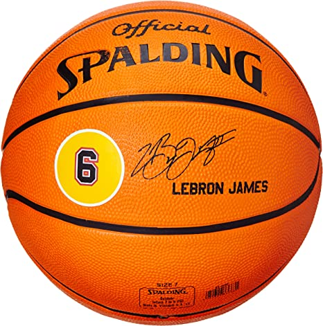 Spalding Ball Player Lebron James 83-022Z - Pelota de baloncesto ...