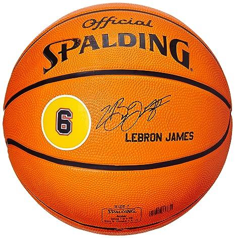 Spalding Ball Player Lebron James 83-022Z - Pelota de baloncesto ...