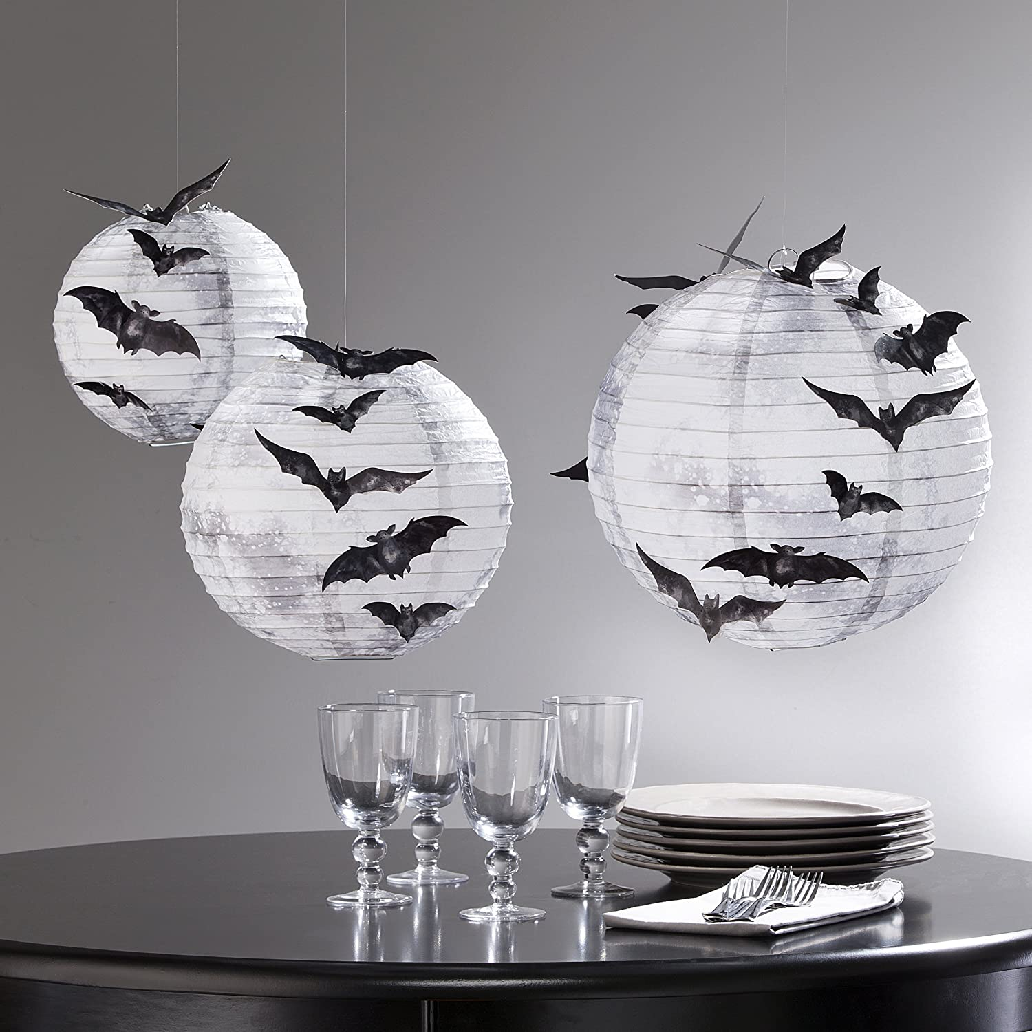 Martha Stewart Paper Lanterns with bats
