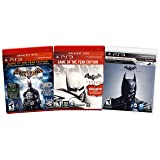 Batman Value Pack: (Arkham Asylum / Arkham City / Arkham Origins) (3-Pack) (Playstation 3)