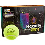 Silver's Headly Heavy Cricket Tennis Ball, (Yellow)
