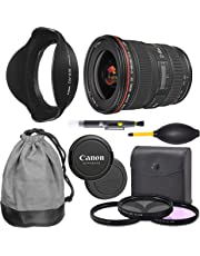 $599 » Canon EF 17-40mm f/4L USM Lens (8806A002) + AOM Pro Starter Bundle Kit - International Version (1 Year AOM Warranty)