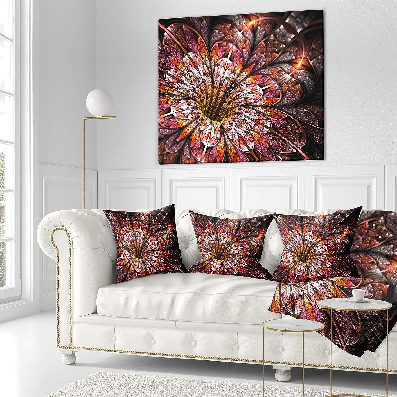 Five Queens Court Selena 4 Piece 100/% Cotton Comforter Set Cal King Pink 2301036WKCS
