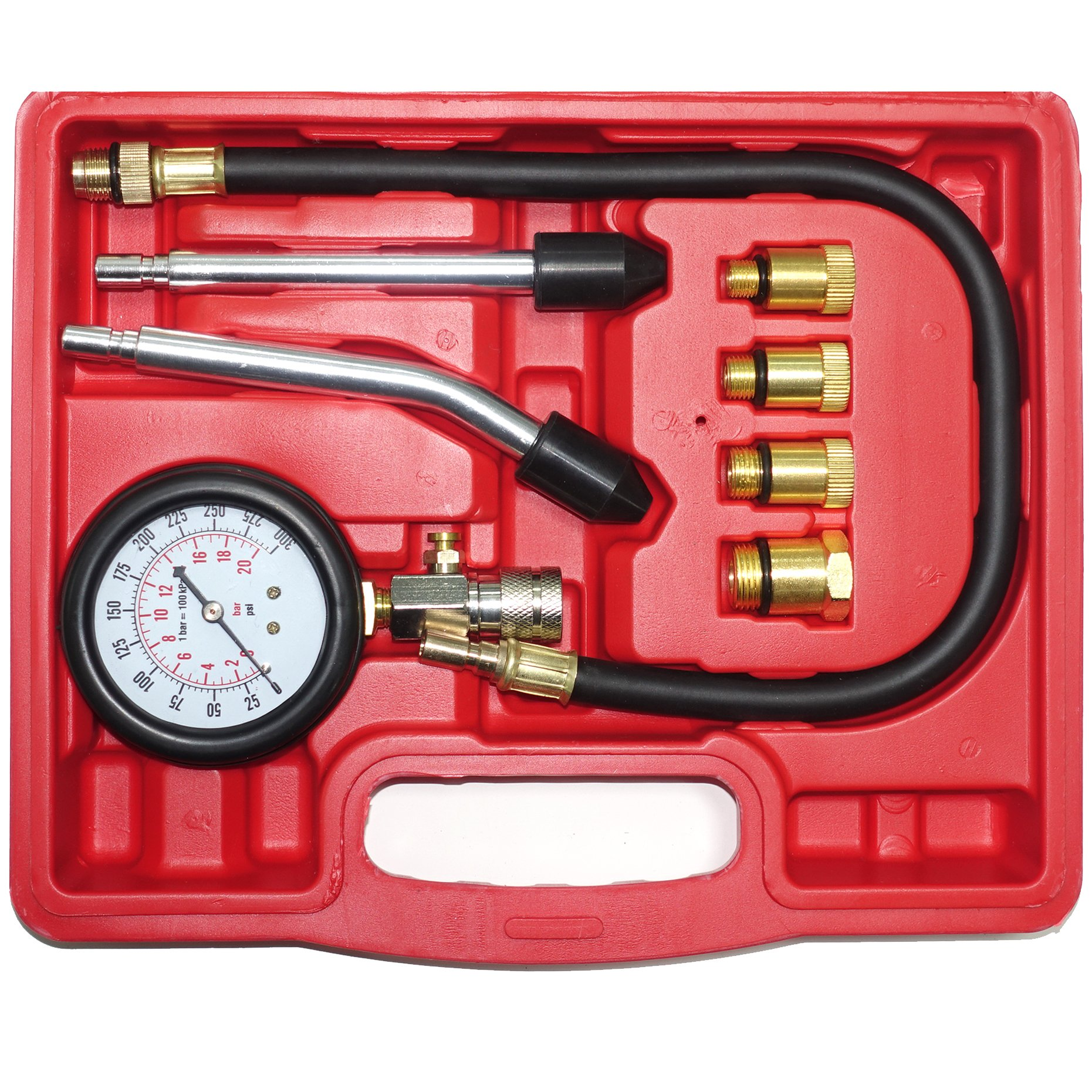 GTM 19022 Compression Test Kit M10x1.0/M12 x 1.25/M14 x 1.25 M18 x 1.5/M16 x 1.5 - Ford Triton