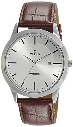 Titan Workwear Men S Designer Dress Watch Quartz Water Resistant Stainless Steel Or Leather Band