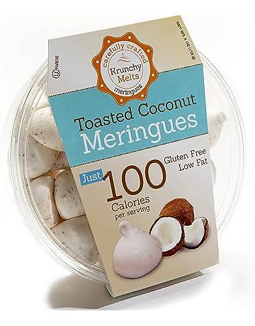 Original Meringue Cookies (Toasted Coconut) • 100 calories per serving, Gluten Free,