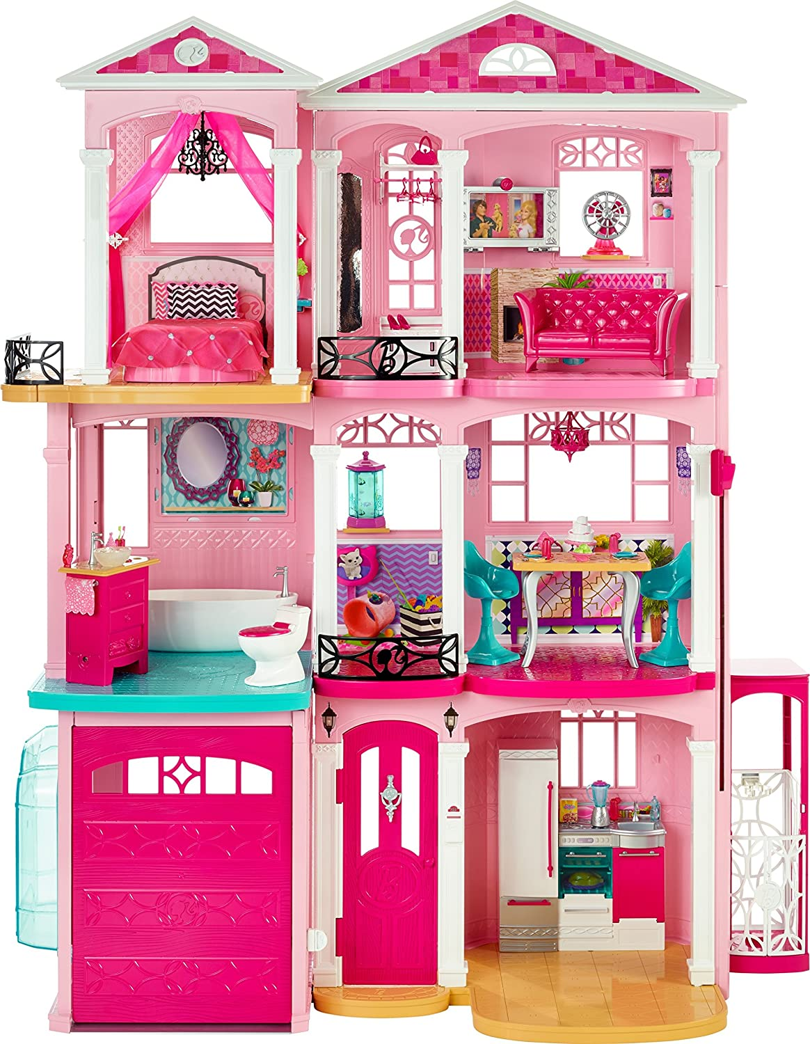 Barbie Villa - Mattel Barbie Traumvilla