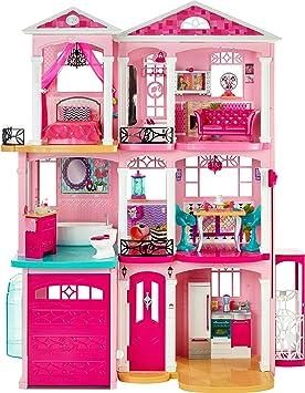 Amazon Es Barbie Dreamhouse Casa De Munecas Mattel Ffy84