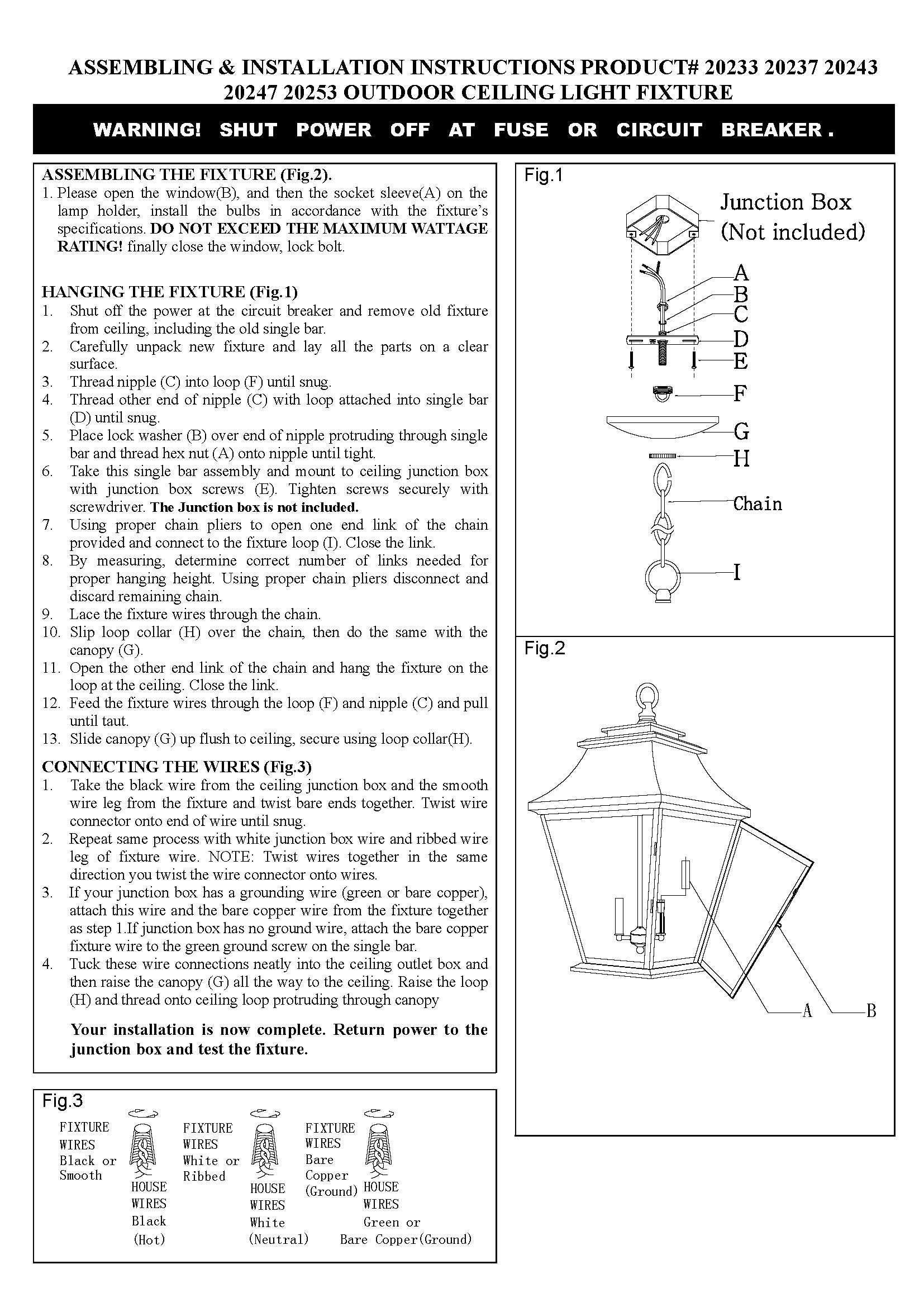 Livex Lighting 20243-04 Hathaway 4-Light Outdoor Hanging Lantern Lantern, Black