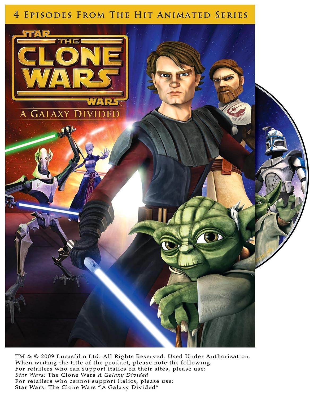 amazon com star wars the clone wars a galaxy divided season 1