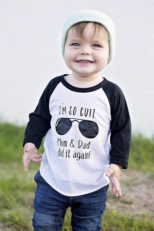 I'm So Cute Mom & Dad did it again! Pregnancy Announcement Shirt