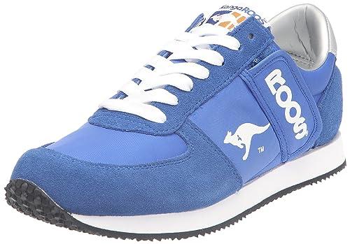 Mens W-500 Trainers, Blue Kangaroos