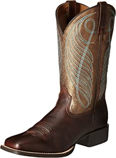 8bd0f22af58 ARIAT Women s Round Up Wide Square Toe Western Boot