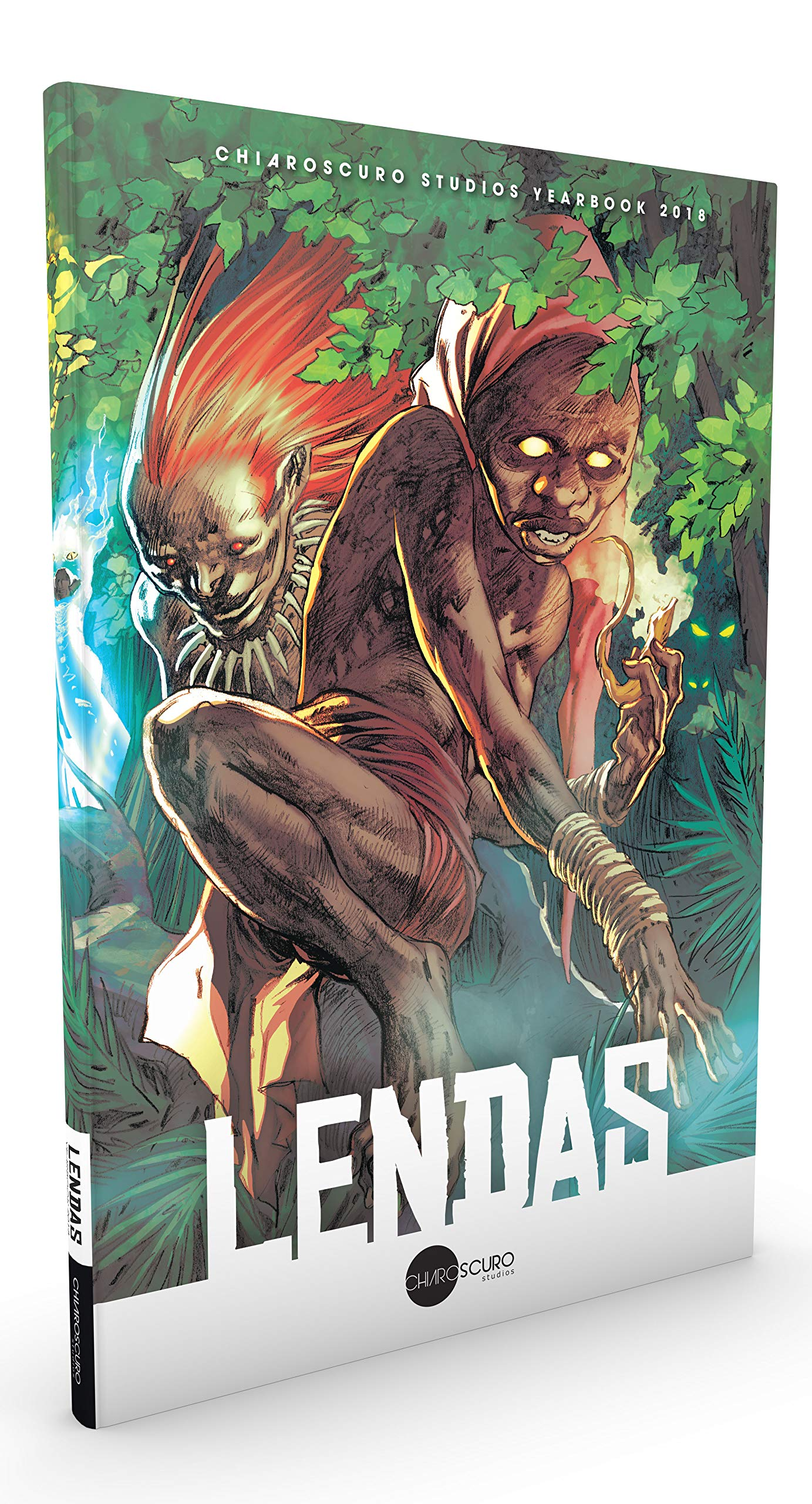 Lendas. Chiaroscuro Studios Yearbook 2018 (Em Portugues do Brasil): Yuri Andrey e Ivan Reis: 9788594284013: Amazon.com: Books