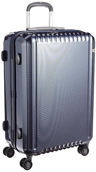 3f1ff5d6b4 Amazon | [エース] スーツケース パリセイドZ 60cm 62L 4.0kg 双輪キャスター 60 cm 4kg 05584  ネイビーカーボン | ace.(エース) | スーツケース