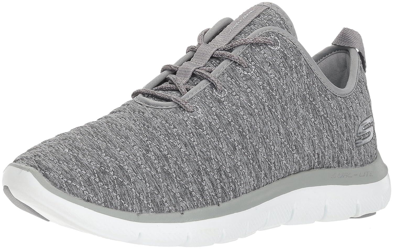 Skechers Damen Sneaker Flex Appeal 2.0 First Impressions Grau  37 EU
