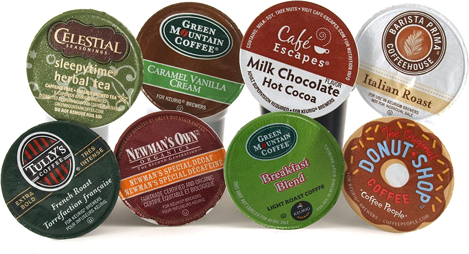 The Entertainer Coffee Variety Pack Keurig K-Cups, 48 Count